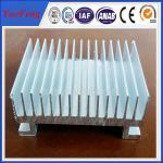 Quality Custom Aluminium Cooler Extrusions, aluminum profiles used in radiator for sale