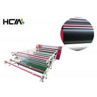 Quality 1.9m Width 420mm Rotary Heat Transfer Machine Calender Oil Heating Style for sale