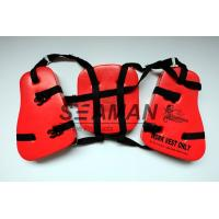 Quality Adult Seahorse Lifevest Vinyl - Dip PVC Boating Life Jackets Three Panel for sale