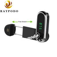 Buy cheap FM Transmitter Bluetooth Receiver and Car Phone Mount with USB Car Adapter from wholesalers