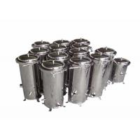 Quality Chemical Cartridge Liquid Filter Housings 10 Inch For Wound Filter / Meltblown Filter for sale