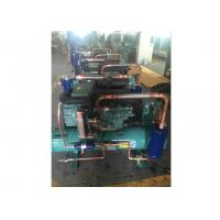 15HP Copeland Water Cooled Condensing Units, Compressor Refrigeration Unit For Supermarket