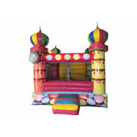 China Small inflatable bouncer with net around / inflatable ball pool bouncer colourful inflatable mini balloon jumping house on sale