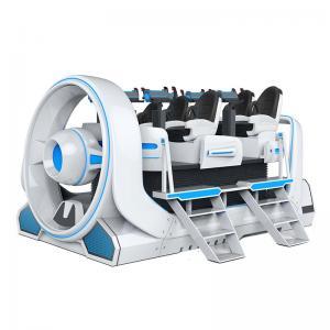 Quality Fiberglass Virtual Reality Shooting Simulator 6 Players 2930*3900*2130mm for sale