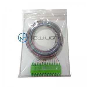 Quality OS2 Single Mode OFNR OFNP SC APC Fibre Optic Pigtail 1310nm for sale