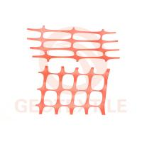 Quality Site Works Plastic Mesh Fencing , Ageing Resistance Orange Safety Fence Roll for sale