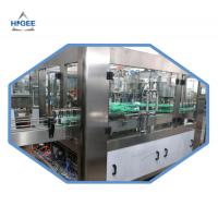 Quality 2000kg Carbonated Drink Filling Machine For Aluminum Cans 18 Filling Head for sale