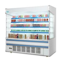 Buy cheap Vertical Open Front Multideck Display Refrigerator Single Temperature With CE from wholesalers