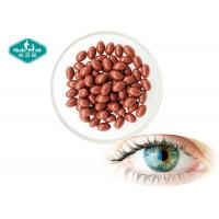 Quality Lutein Bilberry Eye Care Supplement / Nutritional Lutein Zeaxanthin Softgel Capsules for sale