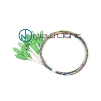 Quality Bundle Fan Out OM3 LC/UPC Loose Tube Fiber Optic Cable for sale