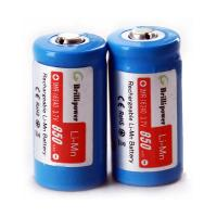 Best Brillipower IMR 16340 battery 850mah Rechargeable Batteries wholesale