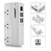 Quality 200W Travel Power Converter 220V to 110V With 4 ports Smart USB Charger for sale