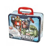 Quality Marvel Avengers Puzzle Tin Lunch Box for sale
