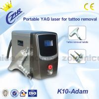 Quality 1064nm / 532nm Laser Tattoo Removal Machine Portable With Detachable Handle for sale