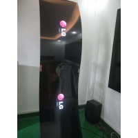 Quality 3mm Thickness 400cd/m2 1920x1080 Floor Stand OLED Screen for sale