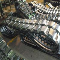 Low Price Rubber Track (130*72*30) for The Excavator