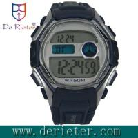 Quality Environmental-friendly ABS, plastic Alarm crystal mirror Digital Electronic Watch for sale