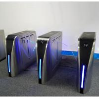 Quality IR Anti Pinch Turnstile Security Systems , Turnstile Gate With Card Reader 35W for sale