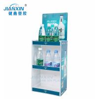 Quality Light Weight / Retail PP Rack UV Printing /Corrugated Plastic Display Stand for sale