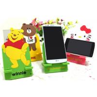 Quality Middle Cartoon Cell Phone Stand Mobile Phone Holder Silicone Universal 16 x 8cm for sale