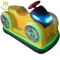 Buy cheap Hansel wholesale entertainment kids electric car plastic body large bumper car from wholesalers
