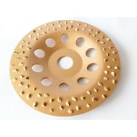 China 6 Inch 7 Inch Tungsten Carbide Grinding Wheel Flap Disc For Metal / Floor Grinding on sale