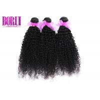 China 100 Percent Indian Human Hair Extensions Remi Indian Kinky Curls Los Angeles on sale