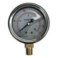 Buy cheap Hydraulic Pressure Gauges, 15,000 psi, 1000 bar from wholesalers