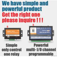 Buy cheap Gsm Remote 1 Relay Output Control water pump 12V 24V Dc Switch Relay from wholesalers