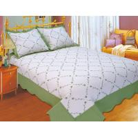 Plain Color Floral Bedding Sets Silky Soft Touch For Home And Hotel