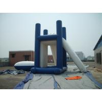 China Lead - Free Backyard Inflatable Water Games , Kids Inflatable Slide For Inground Pool on sale