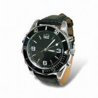 Quality Quartz Talking Wristwatch with Vibrating Alarm and Sound Alarm Functions for sale