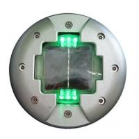 China Embedded solar powered aluminum road stud safety equipment for roadway safety on sale