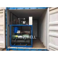 China KINGWELL Energy Saving 5tons Block Ice Machine Installed in Container on sale