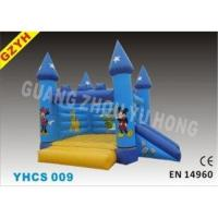 Best Disney 0.55mm PVC Childrens Inflatable Bouncy Castle Slides YHCS 009 1100W Blower wholesale