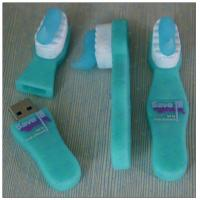 Quality Customized PVC toothbrush shaped usb flash drive for sale