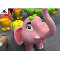 Quality Shopping Mall Lovely Fiberglass Cartoon Animals Shape Seat Kiddie Chair Statues for sale