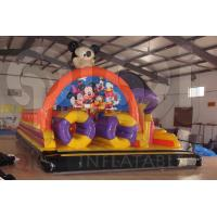 Quality Inflatable The Mickey Mouse Funny Paradise Playground for sale