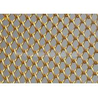 Quality Gold Metallic Mesh Fabric Drapery Curtains for sale
