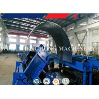 Compartmental Silo  Silo Corrugated Side Panel Roll Forming Machine Hopper Bins Steel