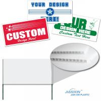 Quality Colorful Advertising / Silk-screen Printing /Corrugated Plastic Signs Walmart for sale