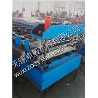 Buy cheap Aluminium Floor Deck / Cladding / Metal Roof Panel Roll Forming Machine from wholesalers