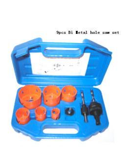 Quality JWT 9PCS HSS Bi Metal Hole Saw for sale