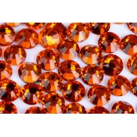 Quality Round Heat Set Rhinestones / Fashionable Glass Crystal Rhinestones for sale