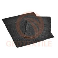 Quality Engineered Woven Geotextile Stabilization Fabric High Tensile Black Color for sale