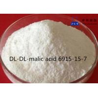 Quality white Powder Synthetic Food Additives DL-Malic Acid CAS 6915-15-7 99% Food Grade for sale