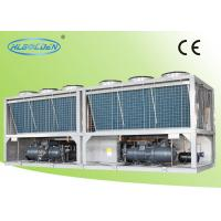 Quality Air Conditioning Commercial Chiller Units Air Cooled with Double compressor for sale