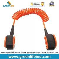 Quality Hot Selling Transparent Orange 1.5M Spring Coiled Baby Toddler Anti-lost Harness for sale