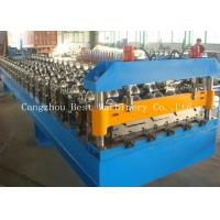 Buy cheap Industrial High Cladding And Roofing Sheet Roll Forming Machine 70 Mm Shaft Dia from wholesalers