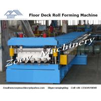 Quality PLC Control System Metal Deck Manufacturers With Hydraulic Shearing for sale